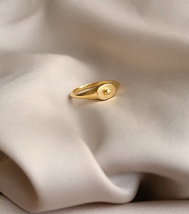 BALL SIGNET RING