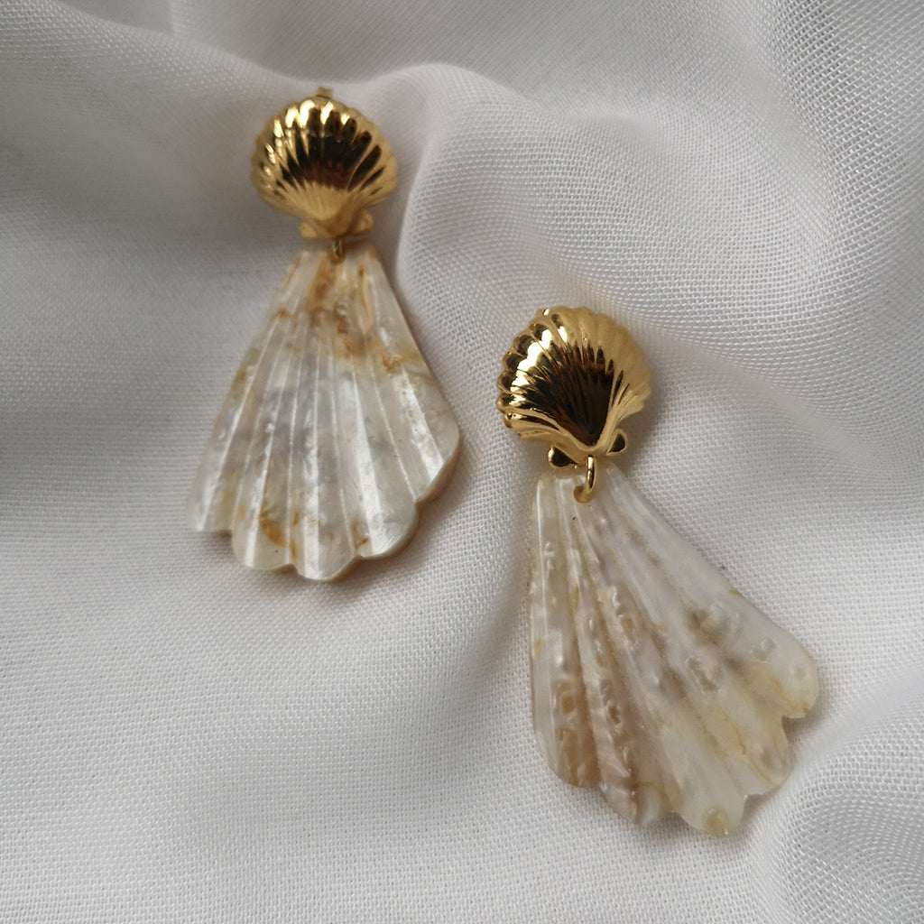 JOSEPHINE SHELL EARRINGS