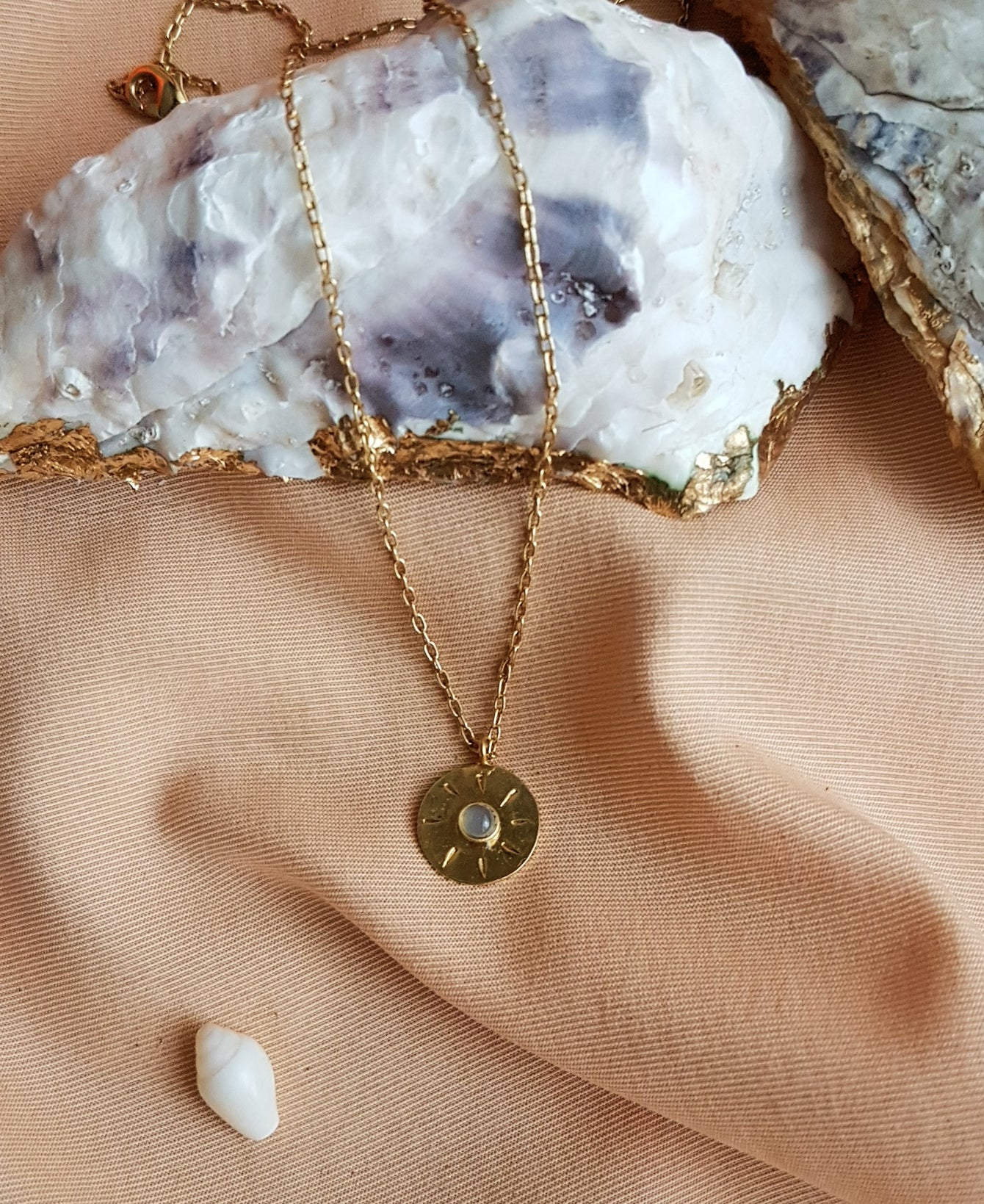SOL NECKLACE / UNIQUE PIECE
