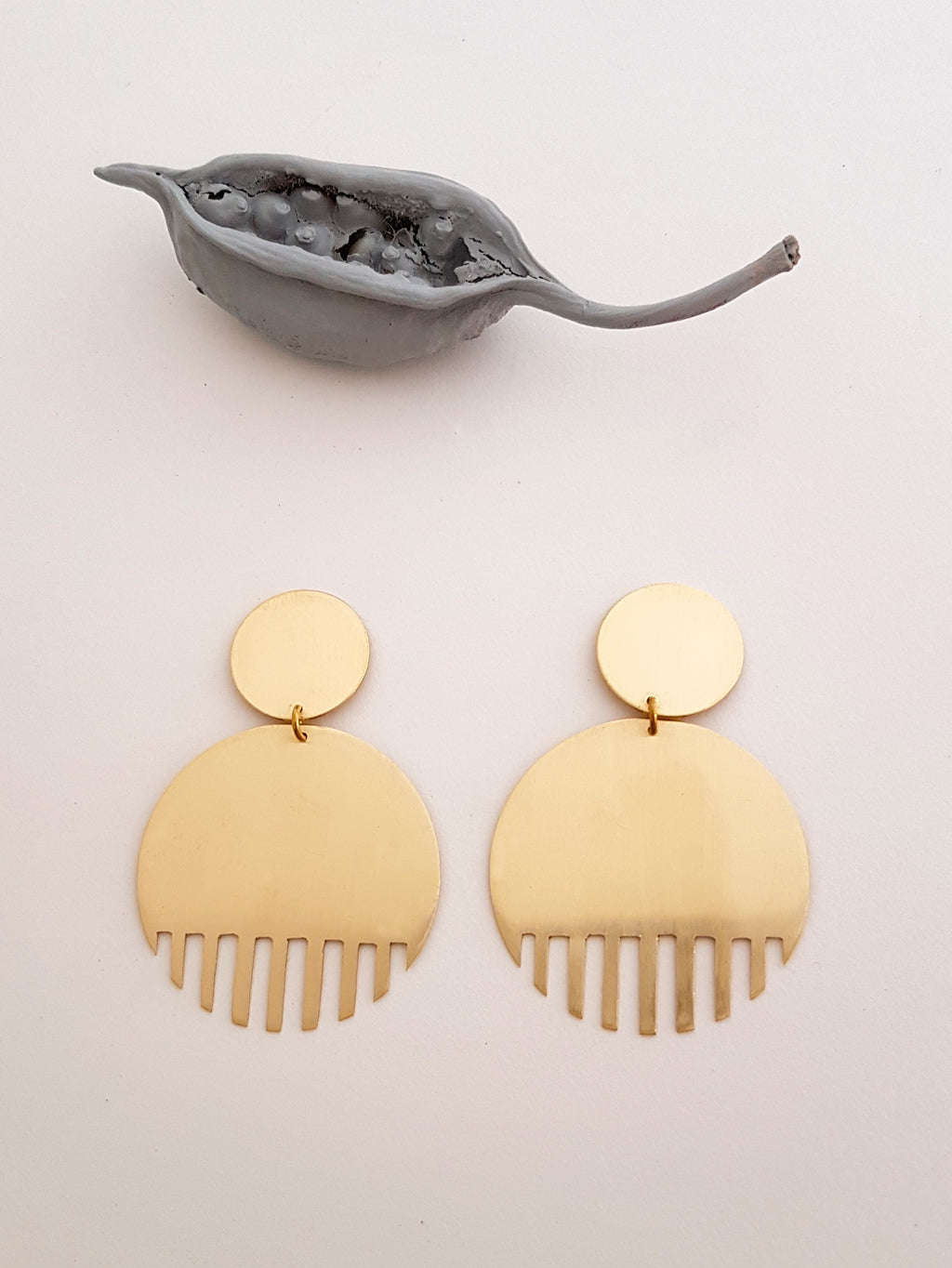 TIMBUKTU I STATEMENT EARRINGS