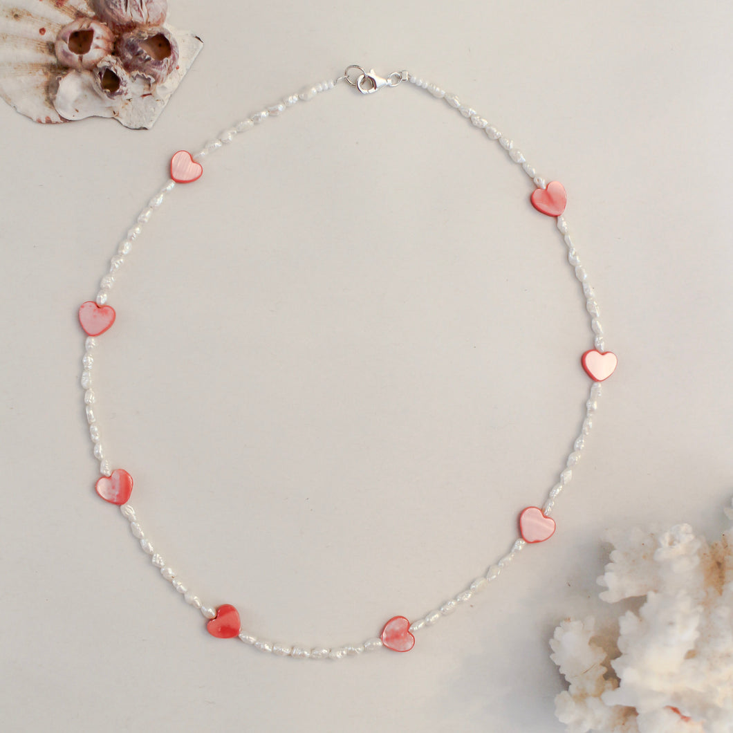 Cuore Beaded Necklace