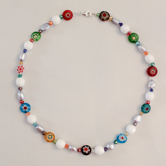 Vetrai Beaded Necklace