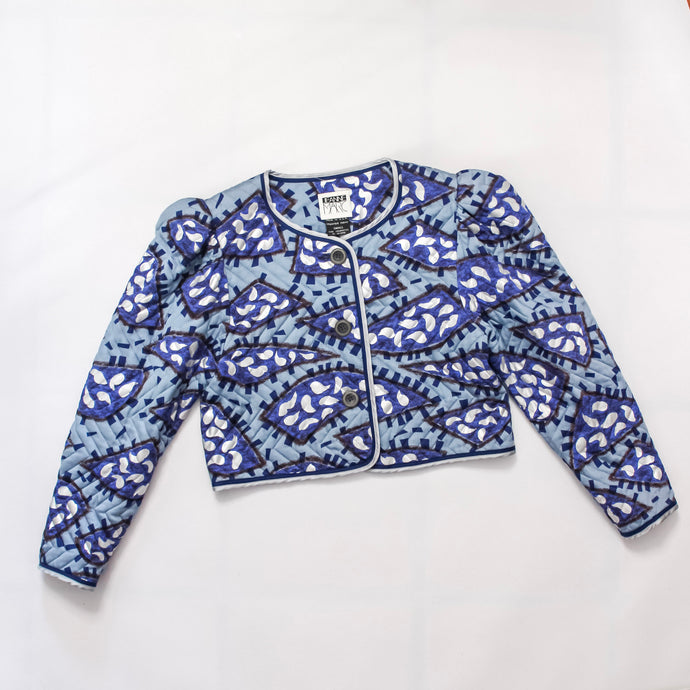 Quilted Jeanne Marc Cropped Jacket