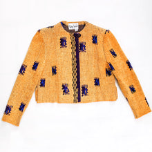Load image into Gallery viewer, Kristen Jensen Knit Chenille Cropped Jacket