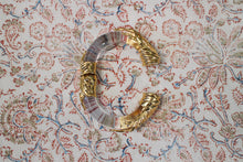 Load image into Gallery viewer, Inna Cytrine Lucite Gold Bracelet