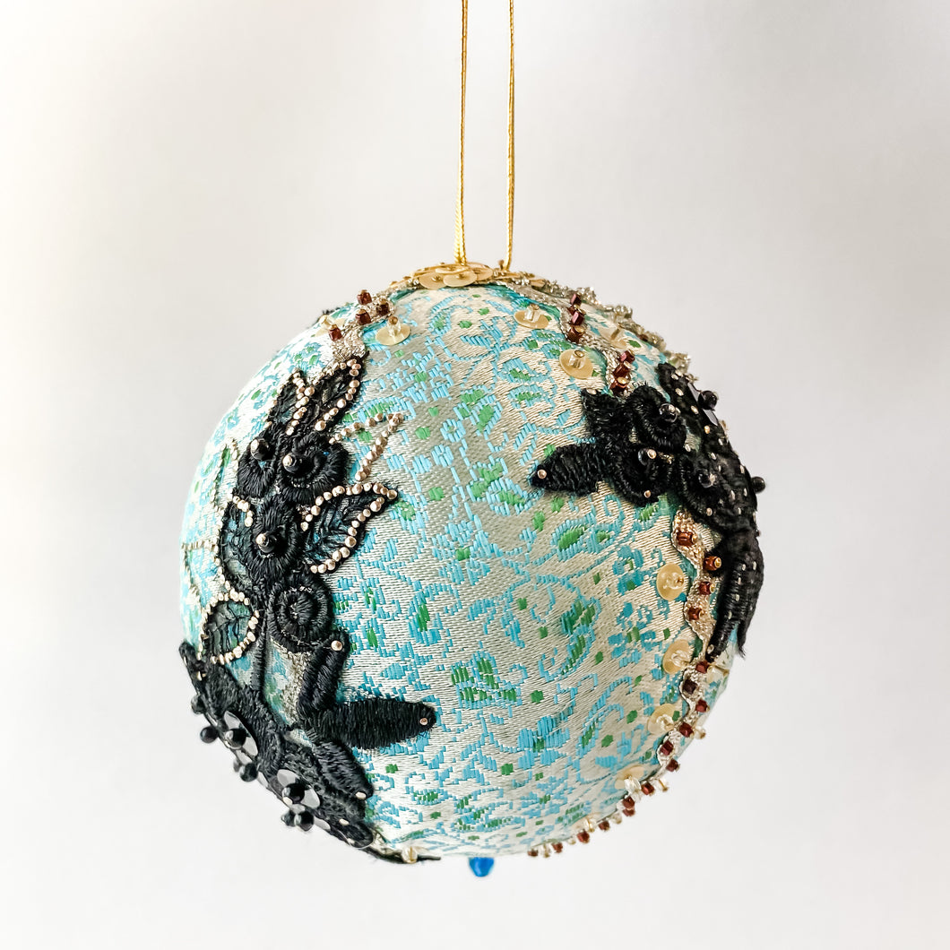 Pin & Silk Holiday Bauble