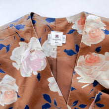 Load image into Gallery viewer, Ungaro Ter Rose Print Cotton Jacket & Skirt Set