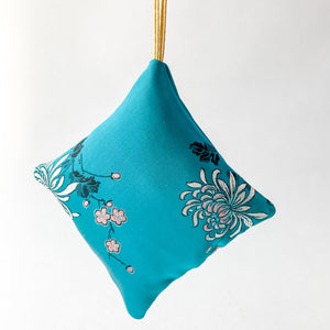 Silk Balsam Sachet Ornaments