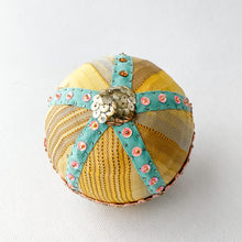 Load image into Gallery viewer, Pin & Silk Holiday Bauble