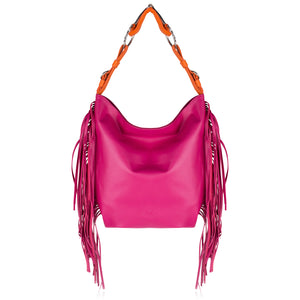 The Fringed Snaffle Bag
