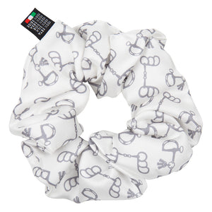 The Silk Motif Scrunchie