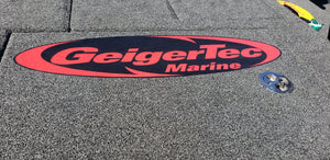 "Carpet and deck Decal 24"" long"