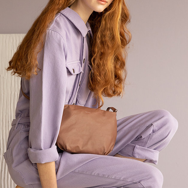 Tinne + Mia Cross Body F.G. Baggy - Brownie