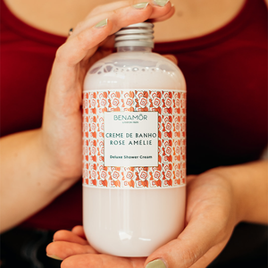Benamor Rose Amélie Deluxe Shower Cream