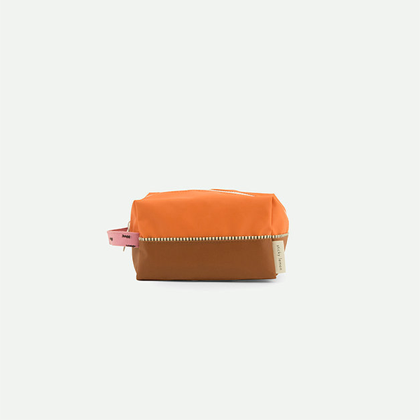 Sticky Lemon Toiletry Bag Sprinkles - Carrot Orange/ Syrup Brown/ Bubbly Pink - Piccolaprofumeria