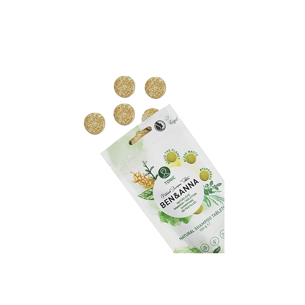 Tonic Natural Shampoo Tablets