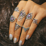 Antique Engraved Rings - Trendy Bohemian