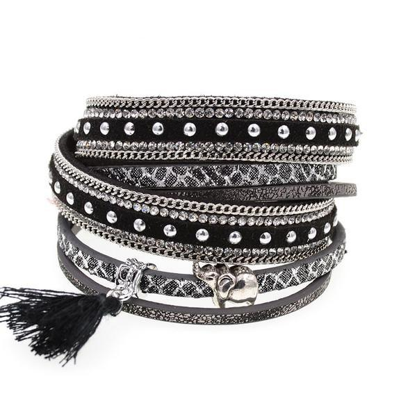 Leather Bracelet - Trendy Bohemian