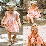 Girls Summer Boho Sundress - Trendy Bohemian