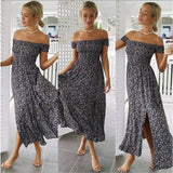 Boho Maxi  Summer Dress - Trendy Bohemian