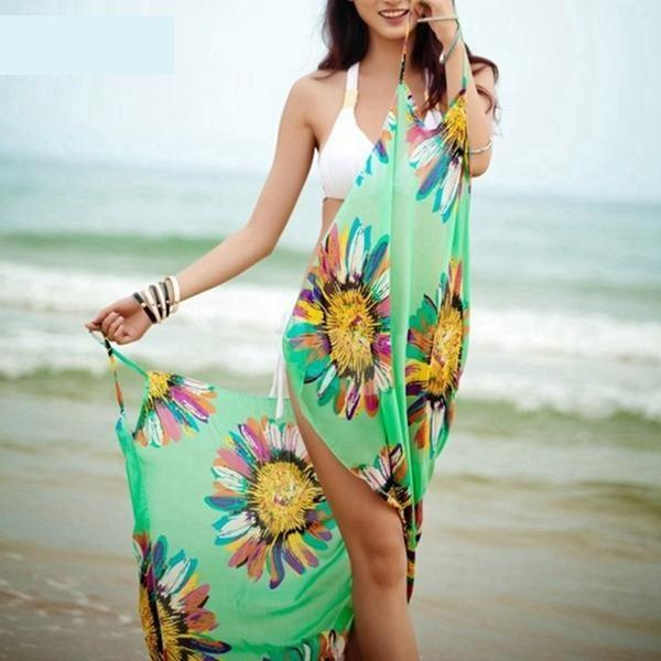 Chiffon Bikini Cover Up - Trendy Bohemian