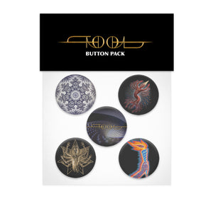 TOOL FEAR INOCULUM BUTTON SET