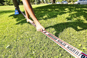 American Ninja Warrior 34' Slackline With Hand Holds