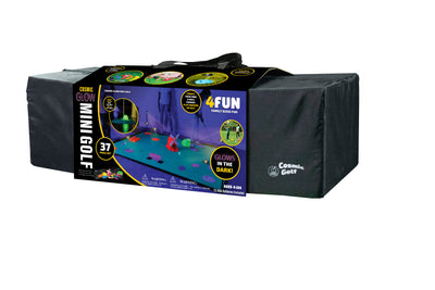 4Fun Deluxe Cosmic Glow in the Dark Mini Golf