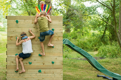 Plum® Climbing Cube Wooden Play Center