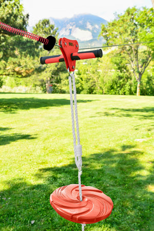 Slackers 90' Eagle Zipline Kit With Free Spring Brake Kit