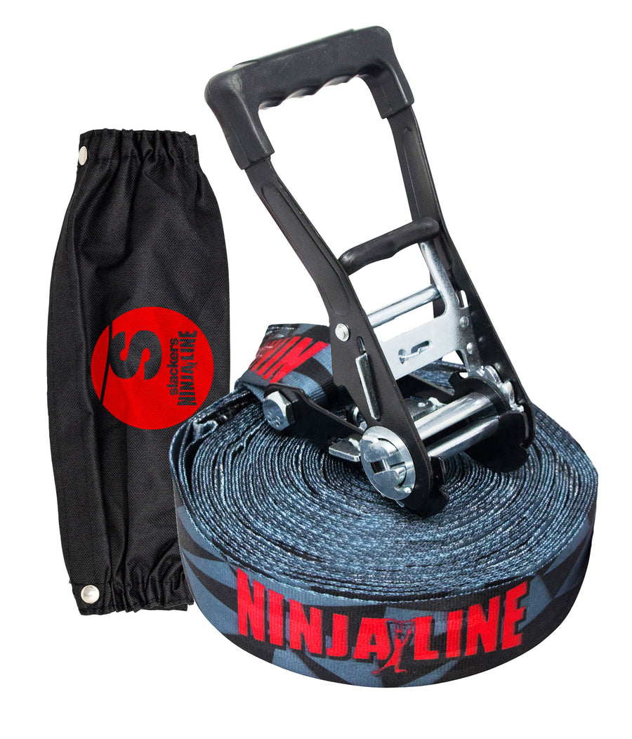 36' Ninjaline with pockets (line only)