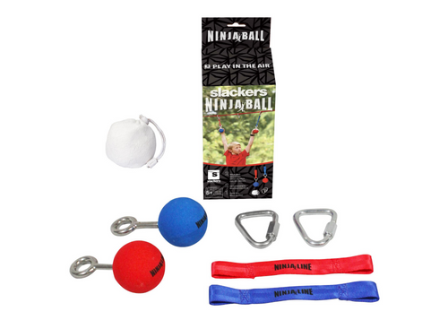 "SLACKERS NINJA 2 ½"" BALL OBSTACLE WITH HARDWARE"