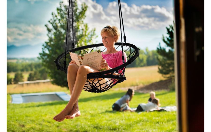 Sky Dreamcatcher Chair - Black