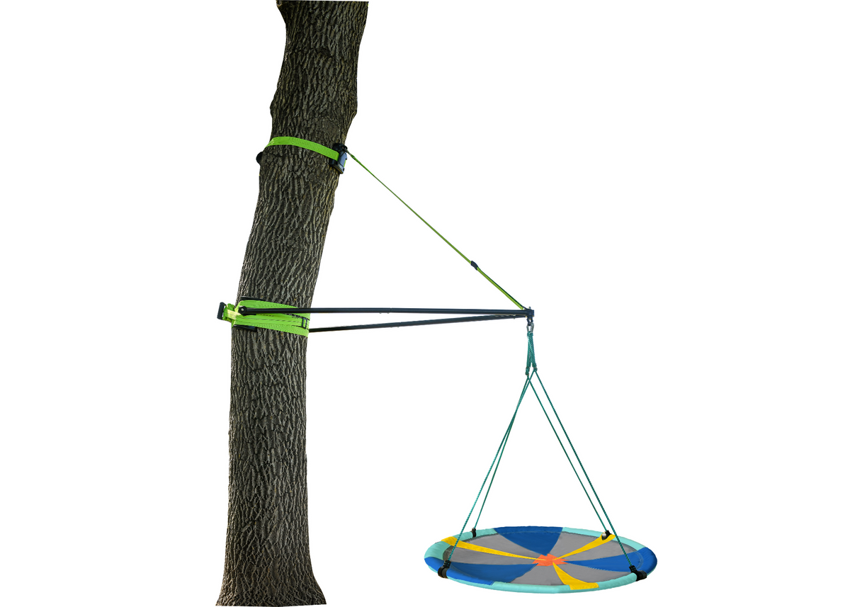 "Slackers Build-A-Branch + 50"" Adventure Sky Swing Duo"