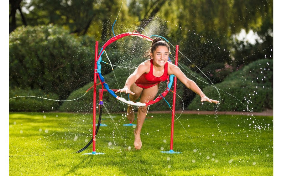 AMERICAN NINJA WARRIOR 4-IN-1 ULTIMATE WATER OBSTACLE SET