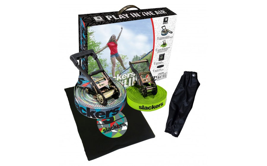 Slackers 50' Slackline Set - Prism Design