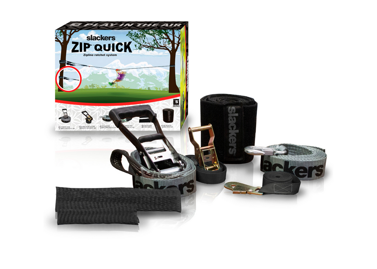 Slackers Zip Quick Zipline Ratchet Installation System