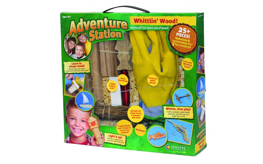 ADVENTURE STATION 'WHITTLIN' WOOD' KIT