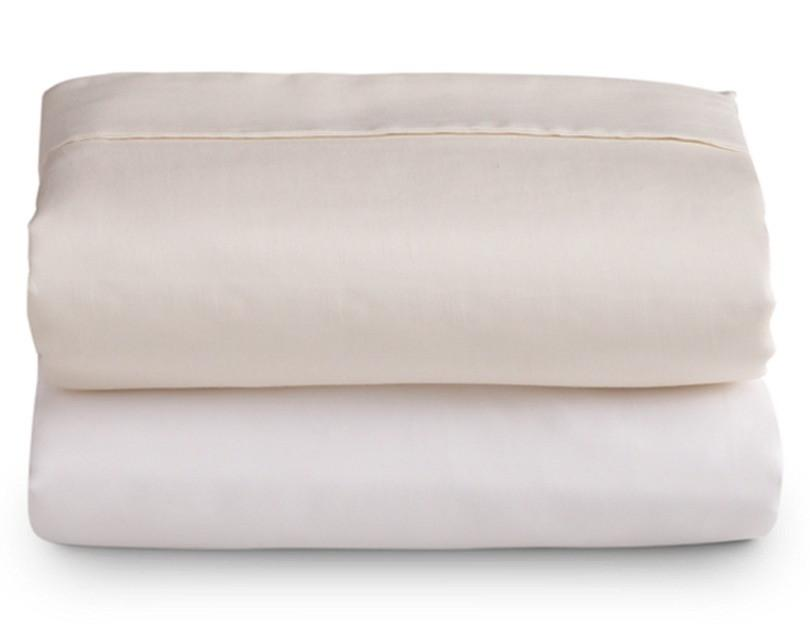 Ivory Microfiber Sheet Set - Queen