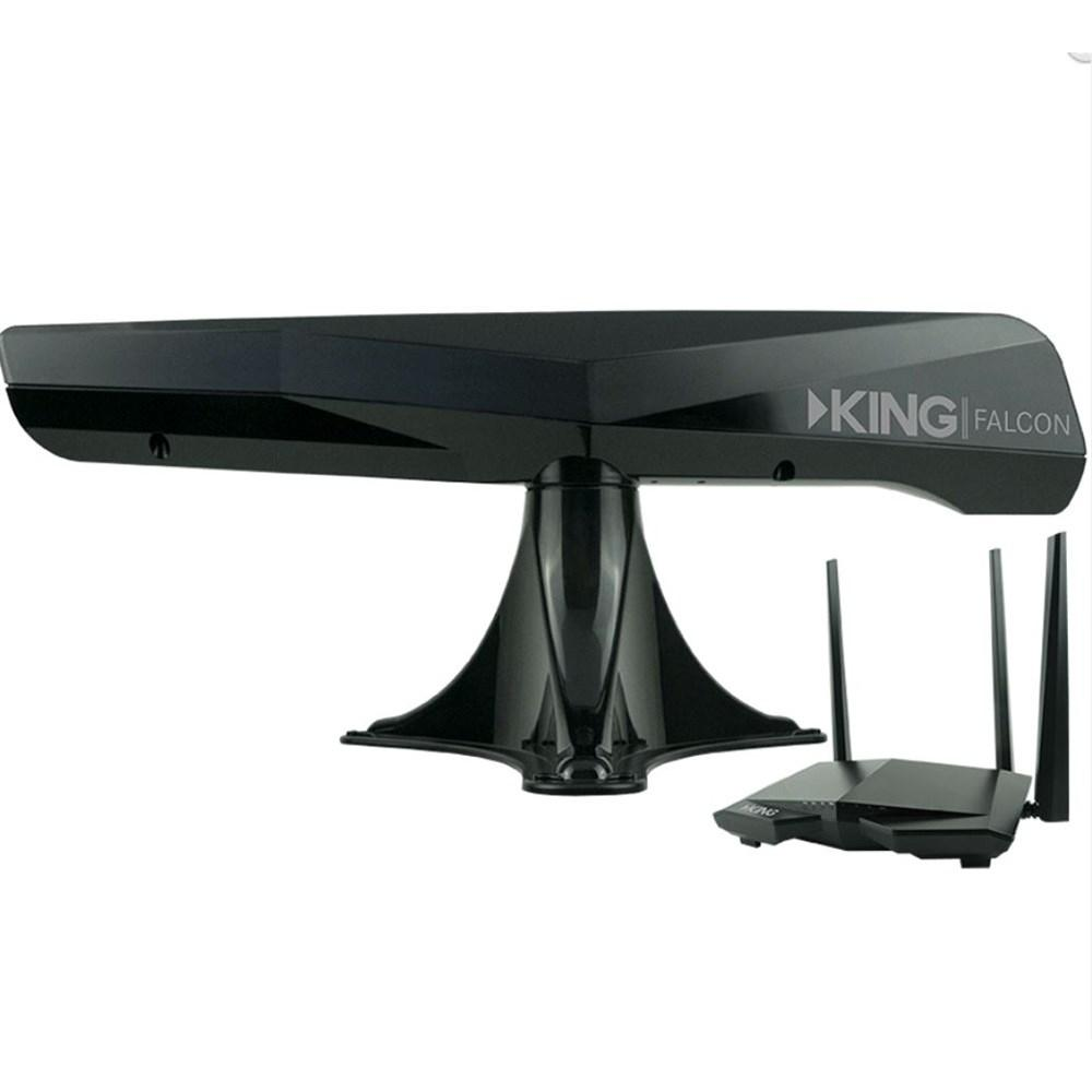 King Falcon Automatic Directional Wi-Fi Antenna w/Extender -black KF1000
