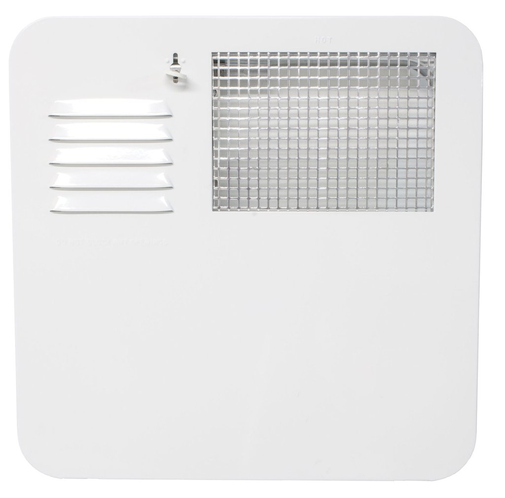 Suburban RV Water Heater Door - 6 gallon - White