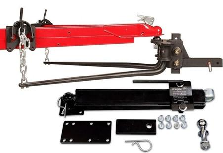Weight Distribution Hitch & Sway Control 1,000 lb Round Bar