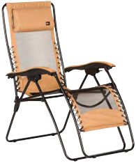 Malibu Recliner Mesh - Tan XL