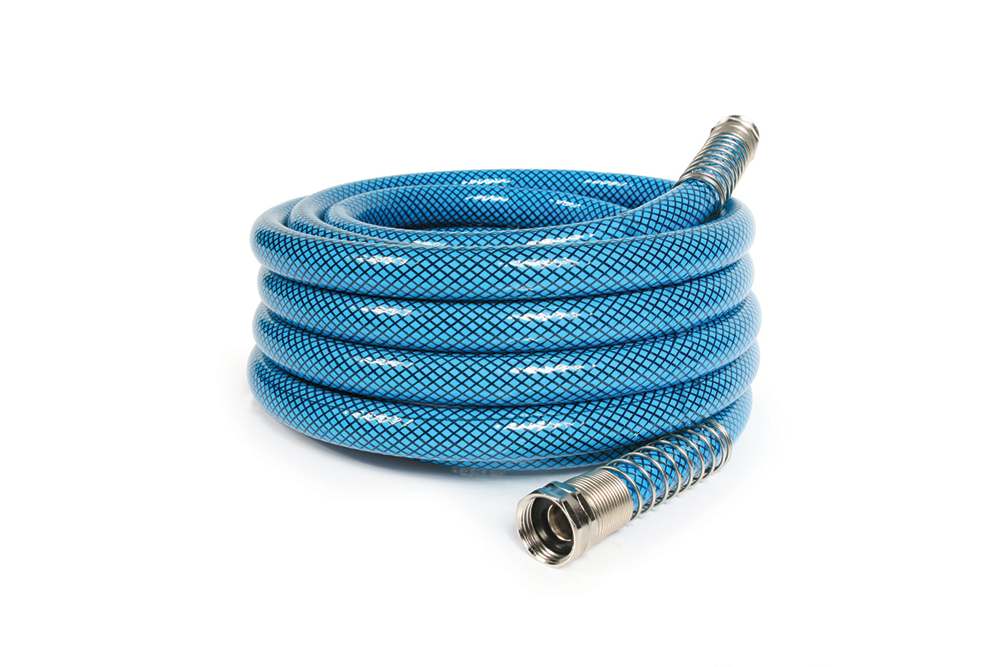 RV Fresh Water Hose with 2 Springs - 25'
