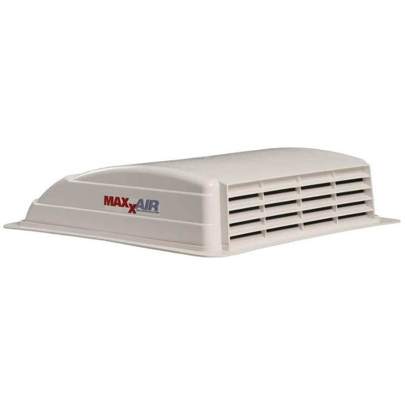 "Maxxair Mini Vent - 10.5"" Manual - White"