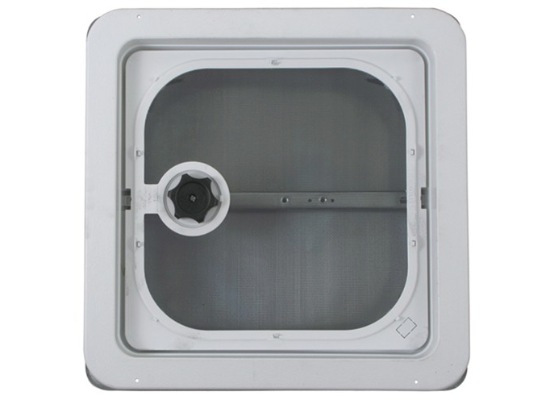 "RV Roof Vent 14"" x 14"" - Metal"