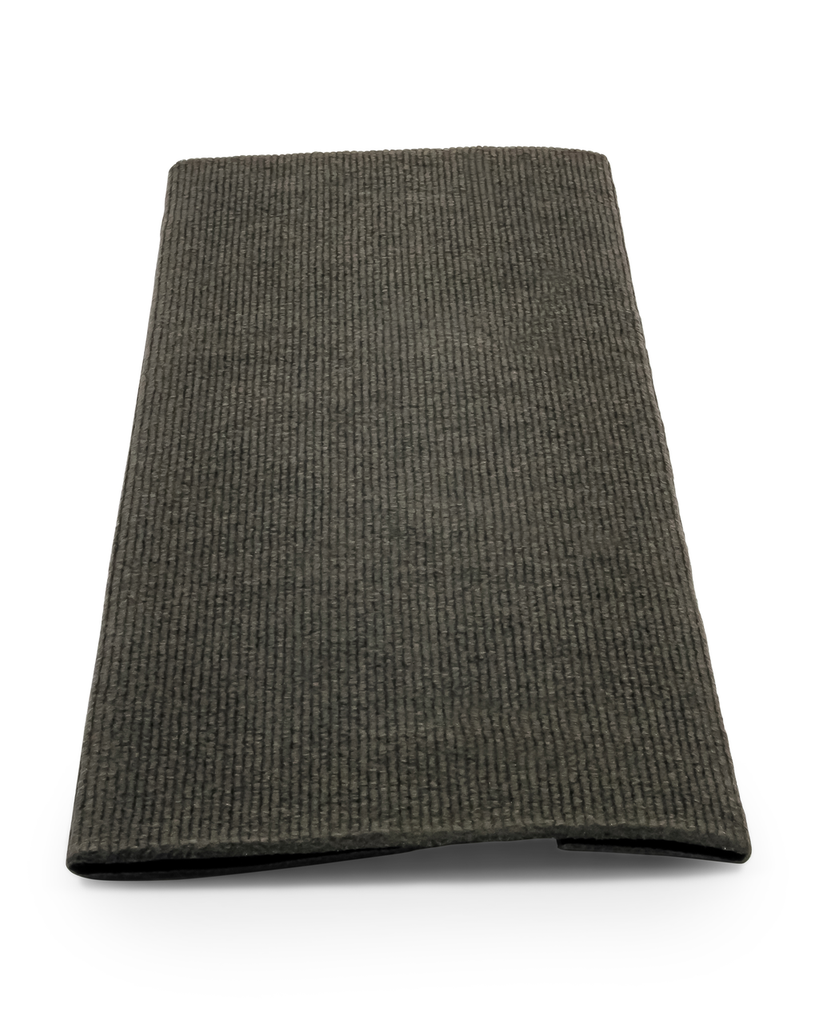 "Ribbed Step Rug - 18"" - Gray"