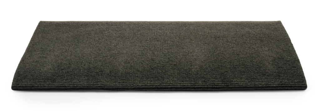 "Ribbed Step Rug - 23"" - Gray"