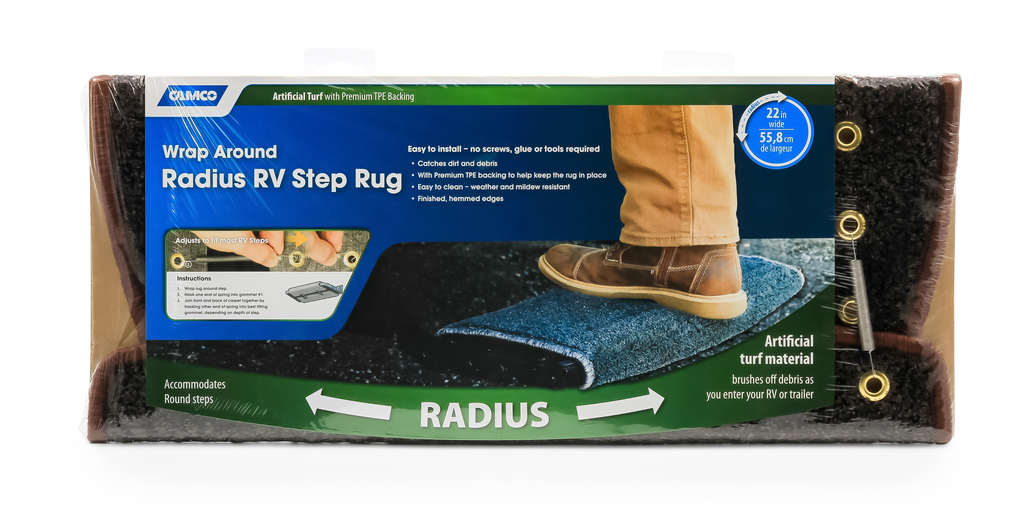 Radius Step Rug - Gray