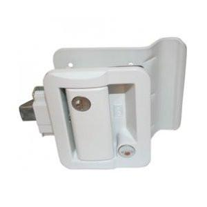 RV Door Lock - White